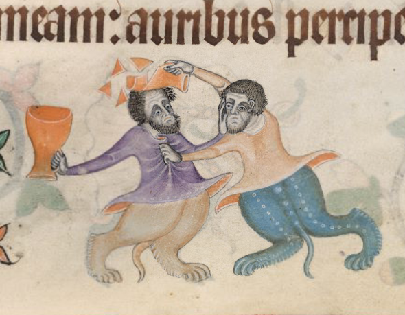 Medieval Life and Monsters in the Margins of the Luttrell Psalter